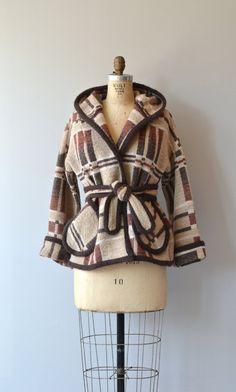 Field Study wool wrap coat 1970s wool wrap jacket by DearGolden