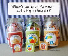 What to do this year with the kids? We've got some great ideas and a fun way to organize the fun!  #SummeVacation