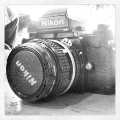 kickin' it old school #vintage #camera