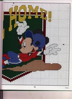 Mickey Collection~pg 79 Slide Home 2