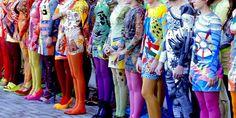 REVISTA ARCHIVOS DEL SUR: Desfile de moda futurista en la Fundación Proa