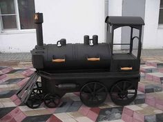 Train BBQ  Smoker