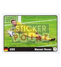 Panini Em Euro 2012 Manuel Neuer Sticker 5 von 6 vorne