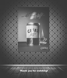 Take a look behind the scenes and see how I did this vintage themed coffee ad. Photography and post-production by Lars Brandt Stisen. #poster #vintage #retro #coffee #tin #50s #60s #coffee #advertising #stisen #maddocman #berlin