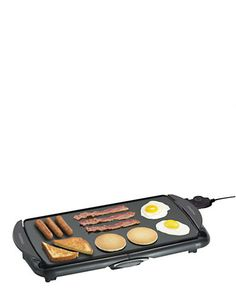 Electric Grills & Griddles | 10.5 InchX20 Inch Jumbo Griddle | Hudson's Bay