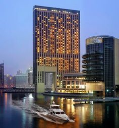 The Address, Dubai Marina stands as a luxury hotel in the heart of the city.