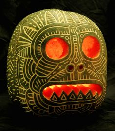 Pimping That Pumpkin: A Gallery of the Best Pumpkin Faces | Face Art, Portraits & Mug Shots