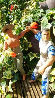 Action man figures two vintage men 1992 and 1994 Hasbro by MrsOldSchoolShop on Etsy
