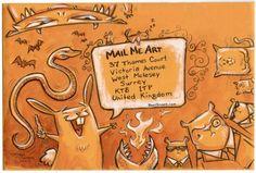 Mail Me Art  {mail art inspiration}
