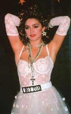 80's Madonna Look