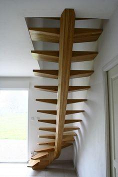 escalier, cuisine, sauna, agencement et aménagement d'espace, design, conception et réalisation sur mesure