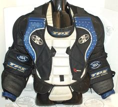 LOUISVILLE X-HALE PRO SR GOALIE ICE HOCKEY GOAL L CHEST ARM PAD PROTECTOR LARGE #Louisville
