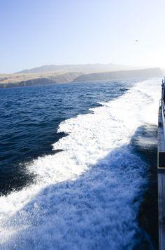 Boat Trip to Santa Cruz island