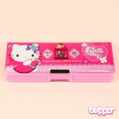 Hello Kitty Magnetic Pencil Case - Style 1