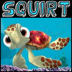 How to Draw Squirt the Turtle from Finding Nemo with Easy Step by Step Drawing Tutorial « How to Draw Step by Step Drawing Tutorials