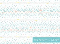 365 Patterns: Alpine Slide by Alma Loveland