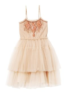 GINGERSNAP TUTU DRESS - Ginger - Flower Girl Dress Option