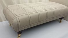 New Designer Handmade Footstool / Table - Laura Ashley Corby Fabric. 4 COLOURS!!
