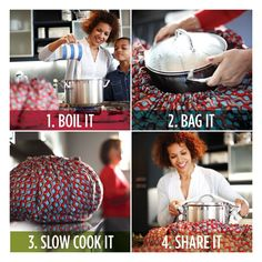 Wonderbag - an on the go slow cooker.. no plugs needed. Seriously, how cool is this?!