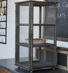 Wooden Screen Pie Safe