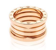 B.zero1 4-band Pink Gold Ring