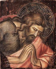 Spinello Aretino San Giovanni Battista in orazione, c. 1390