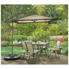 Sportsman's Guide has your CASTLECREEK™ Square Cantilever Patio Umbrella, Khaki available at a great price in our Patio Umbrellas collection Pool Umbrellas, Parasols, Cheap Patio Furniture, Outdoor Furniture Sets, Patio Set With Umbrella, Grand Parasol, Cantilever Patio Umbrella, Patio Cushions, Outdoor Tables