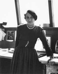 """Dorothea Lange.  She once said, """"Artists are controlled by the life that beats in them, like the ocean beats on the shore."""""""