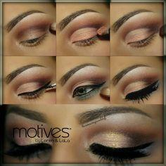 Simple yet elegant neutral makeup tutorial.