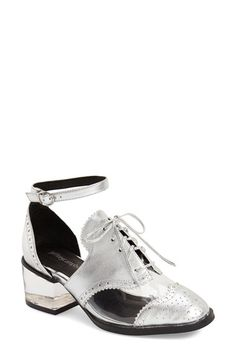 Jeffrey Campbell 'Thoreau' Ankle Strap Oxford (Women)