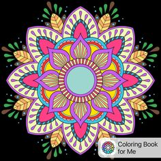 Coloreado con: Libro de colorear para mí