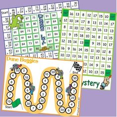 Add three more games to your maths center. Dragon's Lair - Adding 2 numbers with regrouping. Dune Buggies - Addition of two or more numbers, double and single digit with regrouping. Maze Mystery - Addition of the numbers 1 - 6 to 7 - 12.