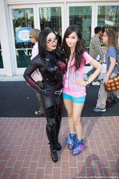 Yaya Han as The Baroness from GIjoe & Alodia at San Diego Comic Con, Gi Joe, Cosplay Girls, Pretty Face, Cosplay Costumes, Female, Friends, Model, Beauty