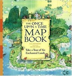 The Once Upon a Time Map Book by B.G. Hennessy — Reviews ...