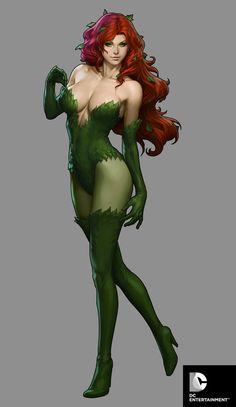 "Poison Ivy-Statue Design for DC Collectibles  byStanley ""Artgerm"" Lau"