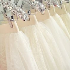 Ivory tulle skirts by Bliss Tulle