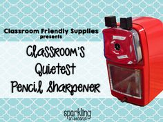 Classroom Friendly Supplies: Pencil Sharpener with a Discount! {GIVEAWAY}