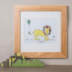Personalised Animal Framed Print | GettingPersonal.co.uk
