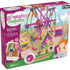 #Christmas Other guideline K'NEX Mighty Makers Fun On The Ferris Wheel Building Set by K'NEX for Christmas Gifts Idea Shoppers . The amount of occasions have you visited good lengths to get your kid this scorching brand-new Christmas Toys. Whenever you give your chosen Christmas Toys for a youngster, don't just side the idea ...