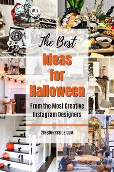 25  spooky ideas for Halloween decor from our most talented Instagram friends. You will find ideas for the front porch, exterior decor, creepy Halloween tablescapes, decor ideas for parties, for the inside as well as the outside. All the Halloween decor ideas for 2020 that are easy and cheap.