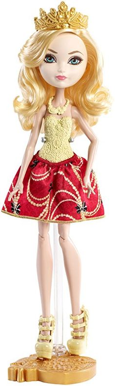 5ecefb6f64 Ever After High Apple White Doll Boneca Jem