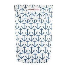 Sailor/Anchor Print Diaper Pouch, from Jcrew
