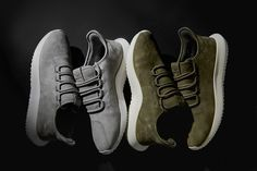 info for 2c249 eebac Dresses the adidas Originals Tubular Shadow in Nubuck for Exclusive Pack