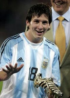 Messi young boy
