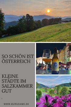 Hier zeige ich Euch drei besonders interessante Kleinstädte in Österreich. #österreich #kleinehistorischestädte #badischl #radstadt #hallein
