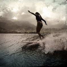 "cbssurfer: ""Walk the plank "" Girls Twitter, Walking The Plank, Point Break, Dream Photography, Longboarding, Surf Style, Surfs Up, Surf Girls, Ocean Waves"