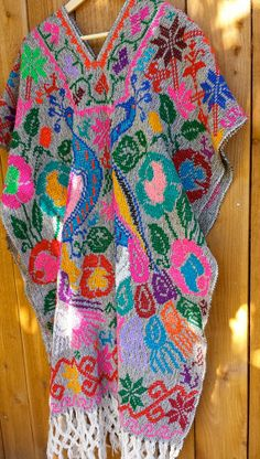 Mexican Oaxacan poncho serape by AristaCollective on Etsy, $180.00
