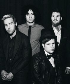 """miserydesigns: """" """" Fall Out Boy by Amy Harrity """" """""""