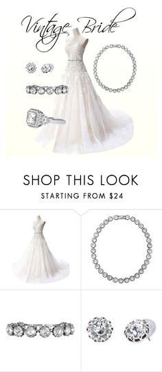 """Vintage Bride"" by candyflutterby on Polyvore featuring Stella & Dot and vintage"