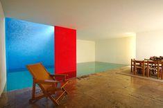 メキシコの建築家Luis Barragan。 FRIDAと同様、色使いに昔から興味があった。 最近、家を...